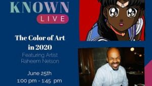 Raheem Nelson on Known Live