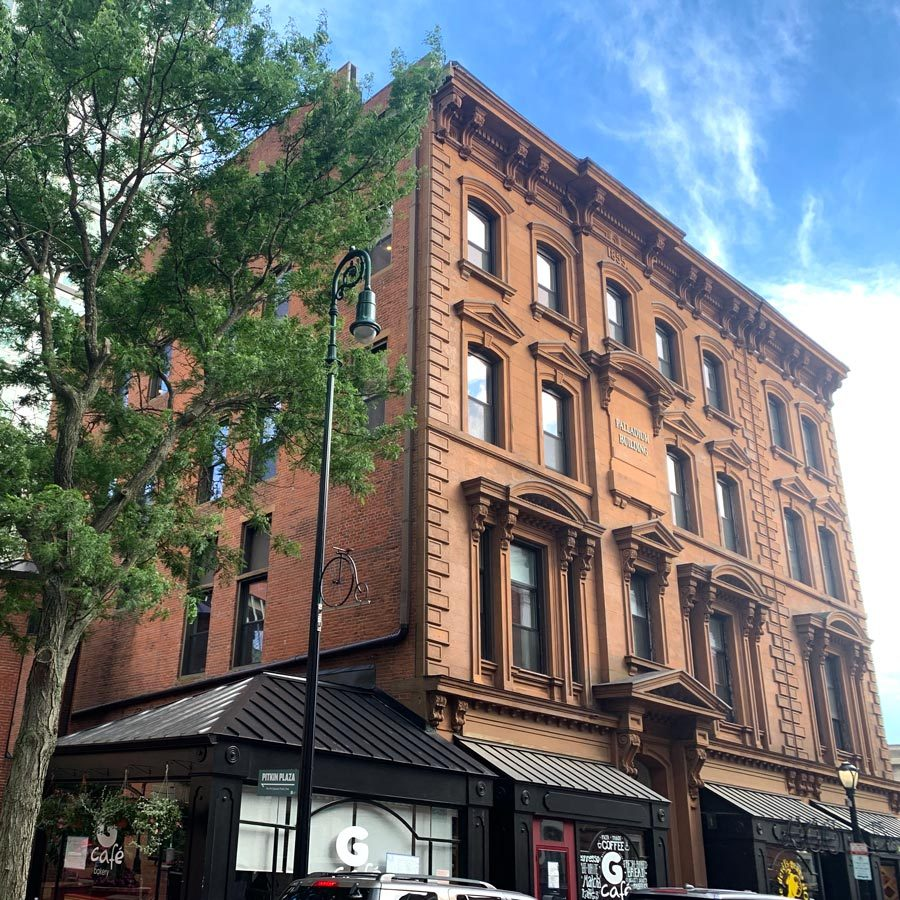 Palladium Building downtown New Haven KNOWN coworking